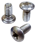 1967 - 1981 Firebird Door Latch Mechanism Mounting Screws, Set of 3