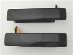 1993 - 2002 Exterior Door Handle, Carbon Fiber, Pair