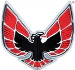 1970 - 1971 Firebird Front Bumper Nose Panel Bird Emblem