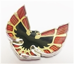 1976 - 1979 Firebird and Trans Am Quarter Sail Panel Bird Emblem with GOLD Inner Details, OE Style, Each