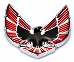 1976 - 1979 Firebird and Trans Am Quarter Sail Panel Bird Emblem with Chrome Inner Details, OE Style, Each