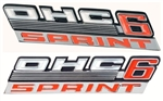 1967 Firebird SPRINT OHC 6 Rocker Panel Emblems, Pair