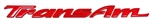 1993 - 2002 Trans Am Door Letters, Red