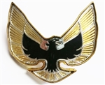 Custom Firebird Trans Am Bandit Style Emblem, Black and Gold