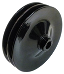 Firebird Power Steering Pump Pulley, 5-3/4 Inch Diameter, 2 Groove for AC