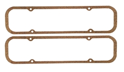1967 - 1981 Engine Pontiac Valve Cover Gaskets Set, Cork / Rubber