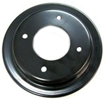1970 Firebird Crank Pulley, 2 Groove with Air Conditioning