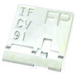 1970 Trans Am Manual Radiator Tag Code FP