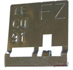 1971 Trans Am H.O. Radiator Tag Code FZ