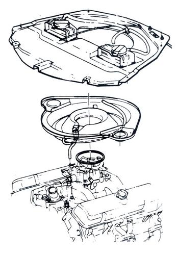 1969 Pontiac Firebird 400 Engine Com