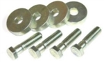 1969 - 1972 Pontiac V8 Engine Intake Manifold Crossover Mounting Bolt & Washer Hardware Set