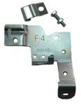 1968-1969 Throttle Cable Bracket - Manual or TH-400 Transmissions