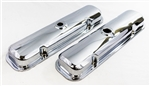 1967 - 1981 Pontiac Firebird Chrome Engine Valve Covers With Drippers