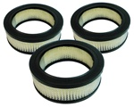 1964 - 1966 Pontiac GTO Three Deuces Air Cleaner Breather Element Set