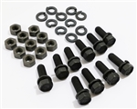 1967 - 1969 Pontiac Firebird Engine Mount To Subframe Frame Bolts, 30 Pieces