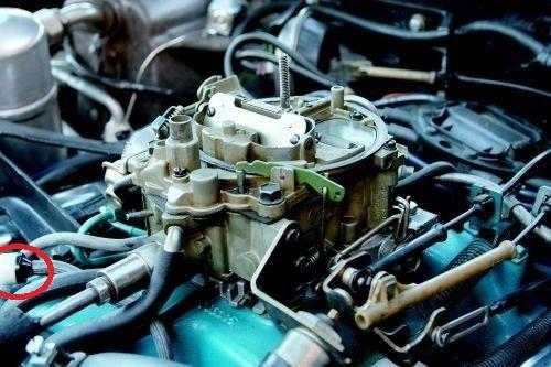 88-92 Camaro Firebird Heat AC Vacuum Check Valve NEW GM  271