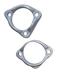 Firebird Exhaust Manifold Flange Set, 1 - Two Bolt and 1 - Three Bolt, Pair