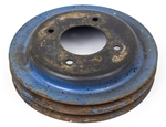 1971 - 1981 Firebird Crank Add On Driver Pulley With Air Conditioning, 4 Hole, Original GM Used