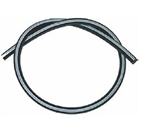 "Rubber Vacuum Hose with White Stripe, 5/32"" Diameter, 2 Foot Length"