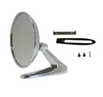1968 Firebird Outer Exterior Door Mirror, Correct Version