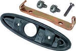 1970 - 1981 Firebird Exterior Bullet Door Mirror Mounting Bracket, Gasket and Hardware Kit, LH
