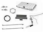 1969 Firebird Fuel Gas Tank Kit, Stainless Steel