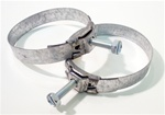 1967-1968 Fuel Tank Neck Filler Hose Clamps