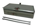 1967 - 1968 Stainless Steel Narrowed Fuel Tank For Carbureted Cars