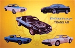 Sign, Metal Tin Pontiac Trans Am