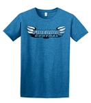 Firebird Central Softstyle T-Shirt, Limited Edition Antique Sapphire Blue