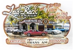 Firebird and Trans Am Laid Back Dream Garage Metal Tin Sign