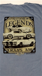Laid-Back Pontiac Firebird and Trans Am Legends T-Shirt