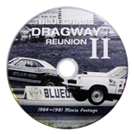 Bluegrass Dragway Drag Strip Racers Reunion DVD, Vintage Movie Footage