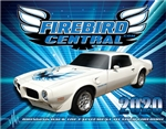 NEW 2020 Firebird Central Wall Calendar