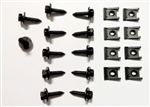 1970 - 1973 Firebird Grilles and Lower Support Bracket Hardware Set