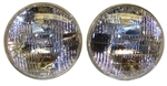 1970 - 1976 Firebird T3 Headlight Headlamp Set, OE Style Ribbed Design, Pair