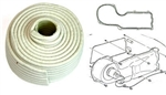 Firebird Firewall Heater Core Box White Rope Caulk Sealant Gasket