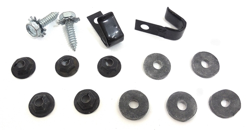 1967 - 1981 Firebird Firewall Heater Core Box Mounting Nuts, Bolts Wiring Clip on harley handlebar wire clips, wire rope clips, types wire clips, plastic clips, latching wire clips, framing clips, insulation clips, conduit clips, automotive clips, spring clip,