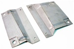 1967-1969 AC Condenser Mount Brackets Set, USA