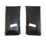 1974 - 1981 Firebird Roof Headliner Shoulder Seat Belt Re-tractor Covers, Pair
