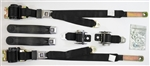 1974 - 1981 Firebird Seat Belts Set, Front and Rear, GM Push Buttons, OE Style