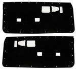1982 - 1992 Firebird Door Panel Water Shields Set, Pair