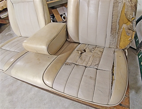 1967 1969 Firebird Front Bench Seat Assembly Original Gm Used