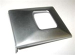 1967-1968 Deluxe Seat Belt Buckle Cover - Stainless