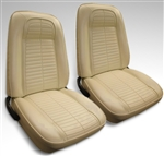 1969 Firebird Front Bucket Seat Covers Set, Standard Interior