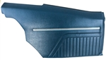 1969 Firebird Pre-Assembled Coupe Rear Door Panels, (PAD) Standard