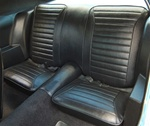 1970 Firebird Rear Seat Covers, Standard Interior
