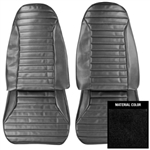 1971 - 1975 Firebird Front Bucket Seat Covers, Standard Interior, Pair