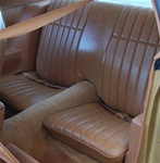 1977 - 1978 Firebird and Trans Am Rear Seat Covers Standard Interior