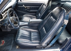 1980 - 1981 Firebird Front Bucket Seat Covers, Standard Interior Upholstery